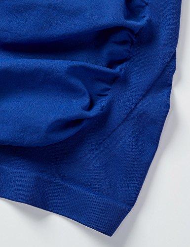 Gratlin Damen Umstands Bauchband - nahtlos Stoff,Bauchstütze Umstandsgürtel Marine