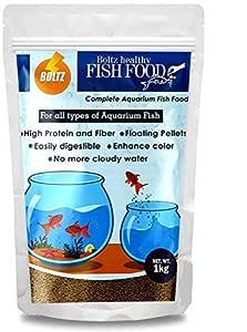 Boltz Fish Food for Growth & Health, Nutritionist Choice (1 KG)
