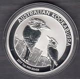 Silbermünze Kookaburra 2018 - 1 Unze Feinsilber - prägefrisch - einzeln gekapselt