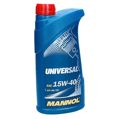 MANNOL 15W40 1 litre d'huile de moteur universel