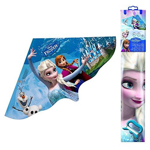 Die Eiskönigin Kinder Flug Drachen Folie   Disney Frozen   Einleiner 115 x 63 cm
