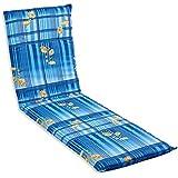 beo B610 Barcelona LI - Cojín para tumbonas de exterior, color azul