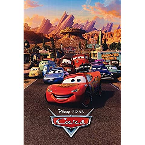 Disney Cars the Movie Edible Cake Topper Frosting 1/4 Sheet Birthday Party by ex