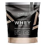 Marque Amazon - Amfit Nutrition Advanced Whey protéine de lactosérum saveur Cookies & Cream, 32 portions,  990 g