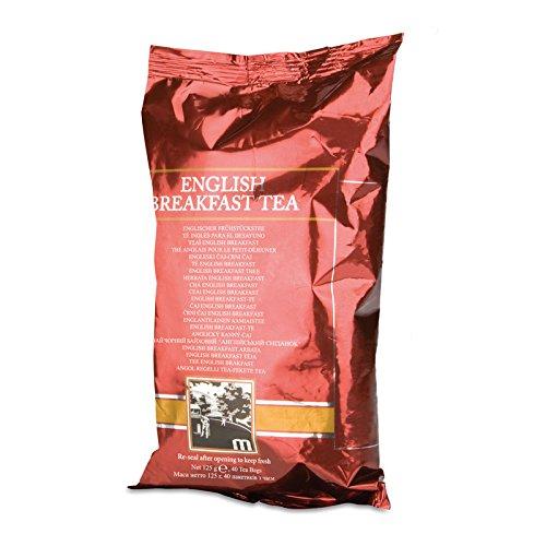 Englischer Frühstückstee von Amway - Tee für das Frühstück - 8 x 125 g Folienverpackung (40 Beutel je Folienbeutel) - Amway - (Art.-Nr.: 117591) (Kenia Becher)