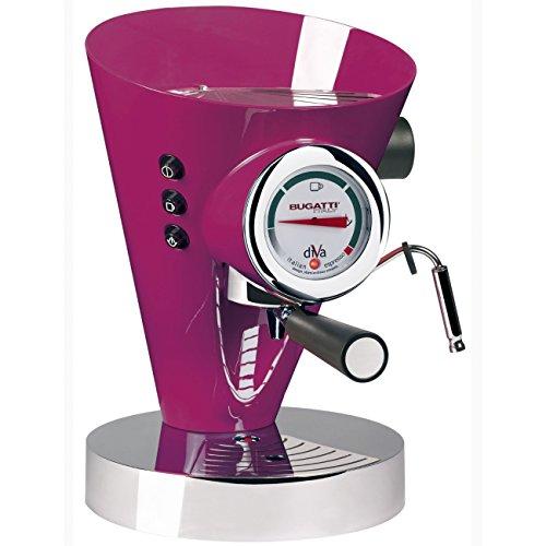 Casa Bugatti 15-DIVACL Kaffeevollautomat Diva, violett
