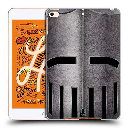 Head Case Designs Helm Mittelalterliche Rüstung Harte Rueckseiten Huelle kompatibel mit iPad Mini (2019) -