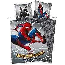 Herding Spiderman Home coming–Juego de cama, algodón, algodón, multicolor, 140  x  200  x   cm