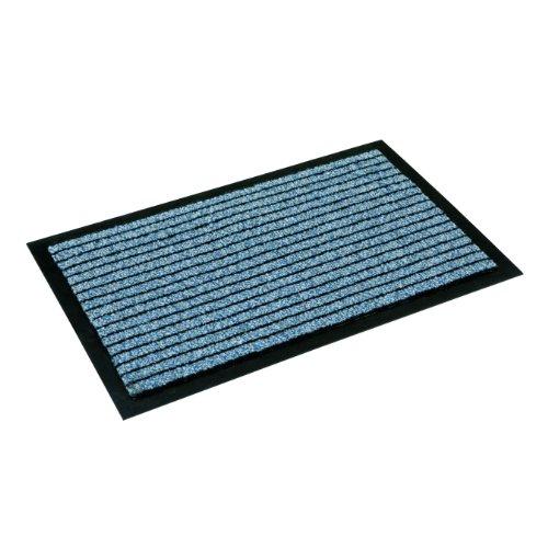 Preisvergleich Produktbild Sauberlaufmatten Schmutzfangmatten Fußmatten,  80 x 120 cm,  blau