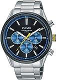 Pulsar Herren-Armbanduhr Analog Quarz Edelstahl PT3727X1