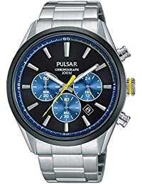 Pulsar PS3727X1 men's watch analogue quartz stainless steel