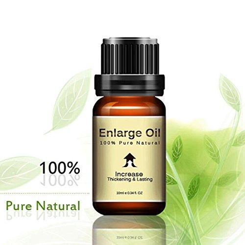 Goosun Erotik Massage Öl Sex Erweiterung Wesentlich Öl Größer Länger Verzögern Sex Produkte Zum Männer Erwachsenes Spielzeug Erotische Massage Öl Libido (10ML, Braun)