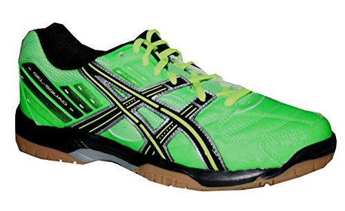 Chaussures de handball ASICS Gel Squad vert fluo