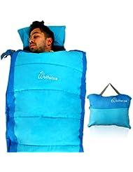 Leapair 32F Bolsa de Dormir Ligera Portátil con bolsa de almacenamiento Saco de dormir para camping, Hiking Backpacking senderismo y al aire libre