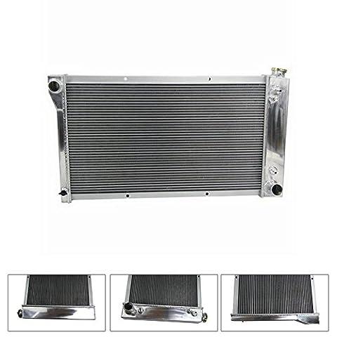 ALLOYWORKS Aluminium Radiator For 1967-1972 Chevy /GMC C/K Pickup Truck
