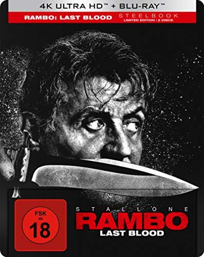 Rambo: Last Blood - 4K UHD Steelbook [Limited Edition] (exklusiv bei Amazon.de) [Blu-ray]