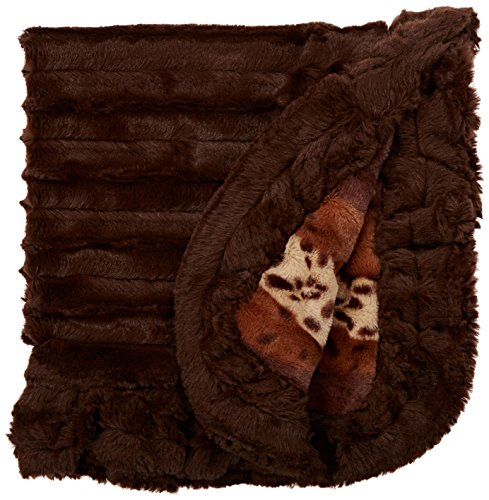 bessie-et-barnie-couverture-pour-animal-domestique-xs-wild-kingdom-godiva-marron-avec-volants