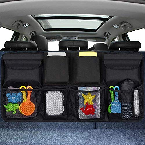 Organizer Auto, URAQT Protezione Sedile Auto Bambini Impermeabile, con Multi-Tasca dell'Organizzatore e Pocket, Organizer Bambino...