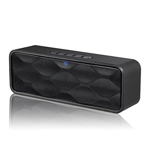 ZOEE ZJB01000-Bluetooth Black-Gm, Altavoz Bluetooth Inalámbrico ZoeeTree S1, Altavoz Estéreo Portátil Para...