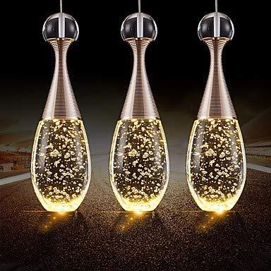 Mini-kronleuchter, 5-licht (Mao&Long Kronleuchter, 3-Licht-Cluster Pendelleuchte Downlight - Kristall, Mini-Stil, 110-240V LED-Lichtquelle enthalten / 5-10 / LED integriert)