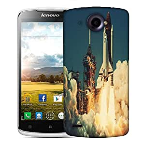 Snoogg Mission to Mars Designer Protective Back Case Cover For Lenovo S920