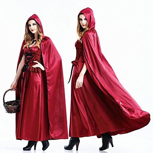 crazysell Halloween Erwachsene Ägypten Queen Zombie Braut Corpse Bloody Bräutigam Kostüm Hochzeit Kleid für Frauen (Reaper Up Make Grim)