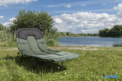 Deluxe Sleep Dream 6 patas) Carp Bedchair camping Angel Camilla