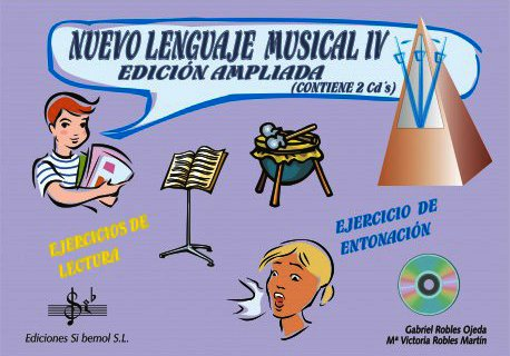 SIBEMOL - Nuevo Lenguaje Musical 4º (Inc.2 CD) (Robles)