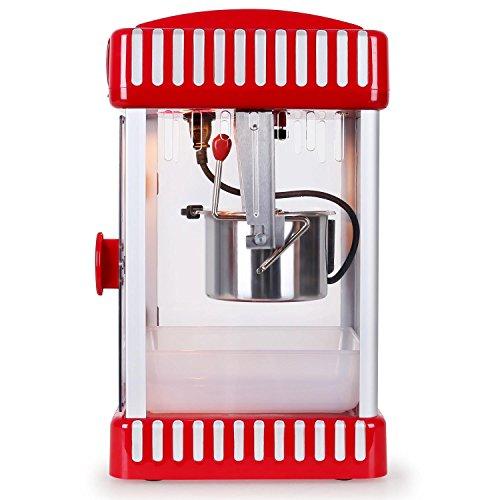 Klarstein Volcano Popcornmaschine Retro-Design mit Innenbeleuchtung - 3