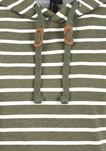 BLEND SHE Carina Damen Kapuzenpullover Hoodie Sweatshirt aus hochwertiger Baumwollmischung Ivy Green (77026)