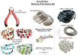 Jeweltailor Complete Memory Wire Jewellery Making Starter Kit For Up to 20 Stylish