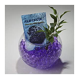 Aqua Crystal® Expanding Water Storing Gel Bead Crystals - PURPLE -100g