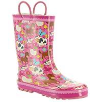 Western Chief Boys Limited Edition Waterproof Rubber Rain Boot