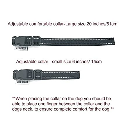 Lunalou Sound & Vibration No Bark Collar, NO SHOCK,Anti Barking Device, Harmless & Humane and so easy to use. With… 4