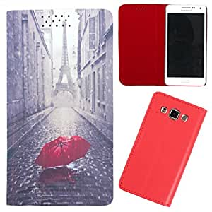 DooDa - For Asus Zenfone 2 Laser ZE550KL PU Leather Designer Fashionable Fancy Flip Case Cover Pouch With Smooth Inner Velvet
