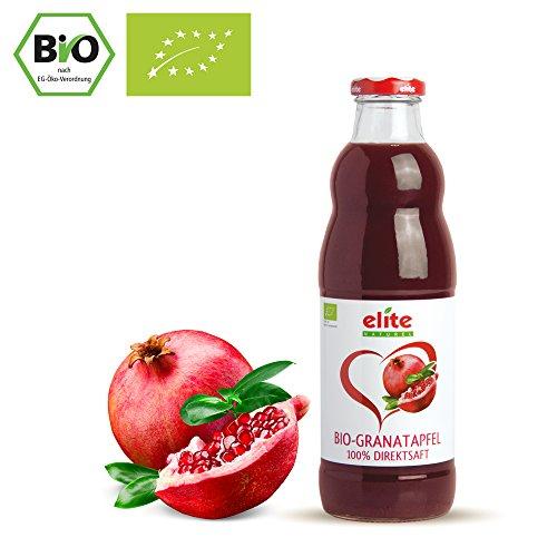 Preisvergleich Produktbild 12 x 700ml Bio Granatapfel Muttersaft - Granatapfelsaft (Direktsaft)