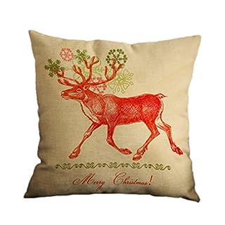 Amybria Platz Weihnachten Skissenbezug Start Autodekor Sofa Kissen Abdeckung Muster 6