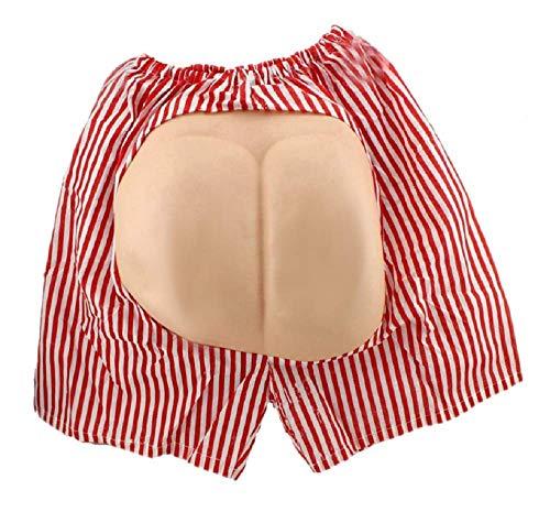 Lovelegis Boxershorts mit Dummy Seat Verkleidung Karneval Halloween Cosplay Lustige Männer Frauen Unisex (Halloween-kostüm Frauen Ideen Lustige)