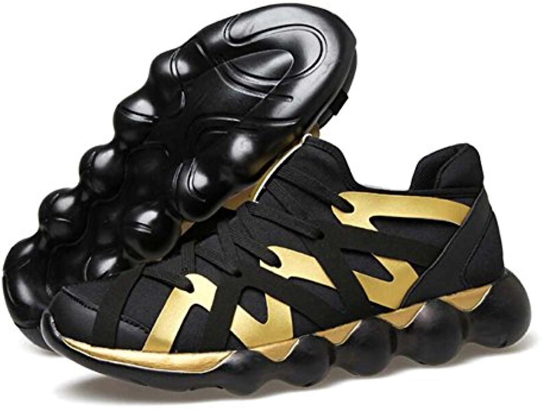 Hombres Bomba Deporte Zapatos con Cordones Zapatillas De Deporte Transpirable Comodidad Zapatos De Escalada Al  -