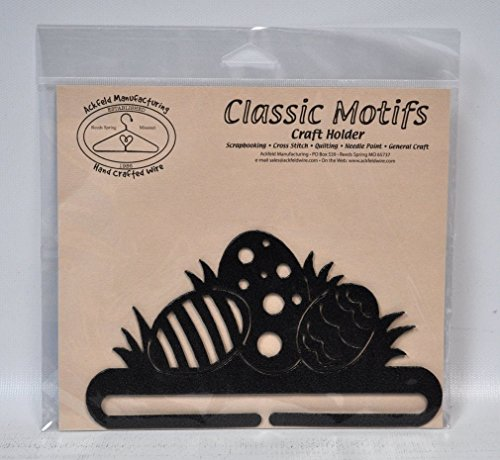 Ackfeld Manufacturing Classic Motive 15,2cm Ostern Eier Craft Halterung