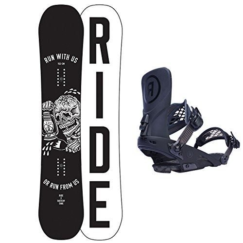 Ride Fixation de freestyle Burnout Snowboard 155 cm avec Ride Ltd pour homme