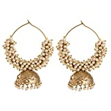 voril fashion golden colour alloy dangle...