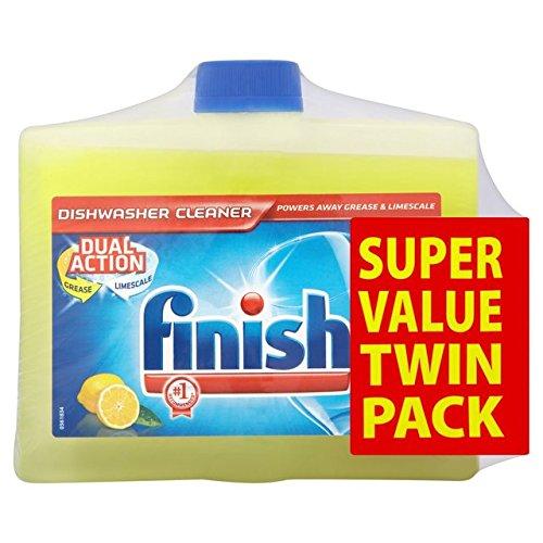 Fertig Twin Pack Spülmaschinenreiniger Zitrone 2 x 250ml