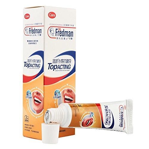 Hupoop Backsoda weiße Zahnpasta Zähne, die Reinigungs Hygiene Mundpflege weiß werden -
