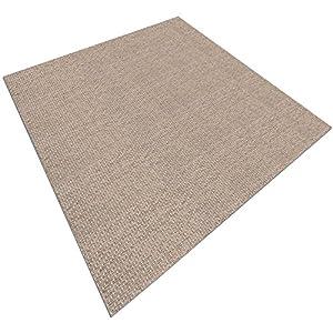 casa pura Design Bodenschutzmatte Verona | Unterlegmatte für Fitnessgeräte | zuverlässiger Bodenschutz | 2 Größen