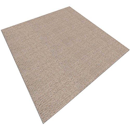 casa pura Design Bodenschutzmatte Verona | Unterlegmatte für Fitnessgeräte | zuverlässiger Bodenschutz | 90x200cm