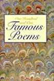One Hundred and One Famous Poems by Elizabeth Barrett Browning (1993-01-01)
