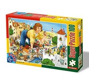 D-Toys - Rompecabezas, 100 Piezas (DT60402-PV-03)