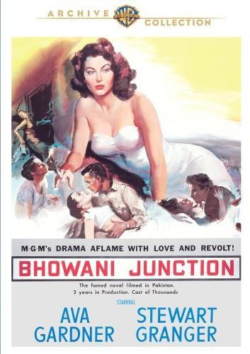 Bhowani Junction by Stewart Granger, Bill Travers Ava Gardner