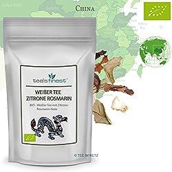 Weißer Tee Zitrone-Rosmarin - BIO (100 Gramm)